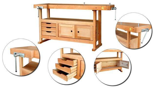 etabli menuisier bois caisson. Black Bedroom Furniture Sets. Home Design Ideas
