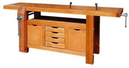 etabli menuisier pro 200cm. Black Bedroom Furniture Sets. Home Design Ideas
