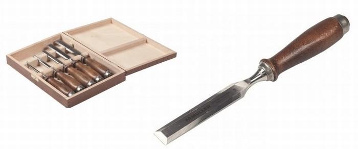 coffret bois de 5 ciseaux de sculpteur muller sculpture et t. Black Bedroom Furniture Sets. Home Design Ideas