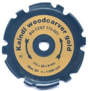 Disque sculpture d coupe woodcarver gold - Outils pour sculpter le bois ...