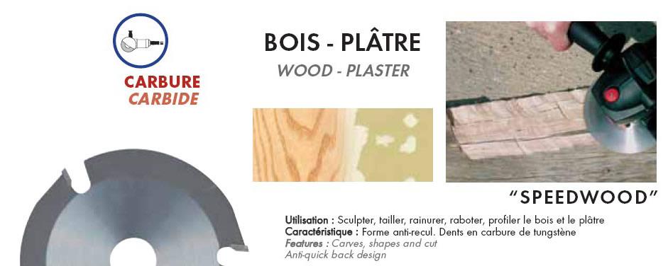 disque speedwood dia 115 pour meuleuse. Black Bedroom Furniture Sets. Home Design Ideas